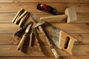custom carpentry work tools